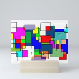 Flashback Colour Mini Art Print