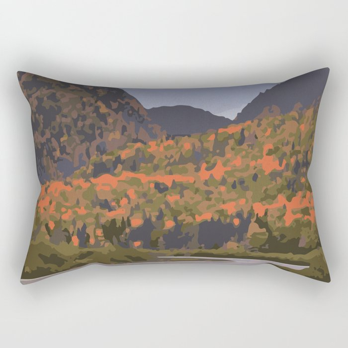 La Mauricie National Park Poster, Quebec Rectangular Pillow
