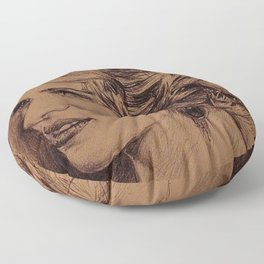 SCARLETT JOHANSON Floor Pillow