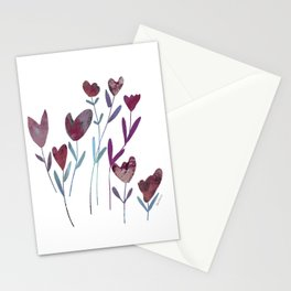 nordic blooming Stationery Cards