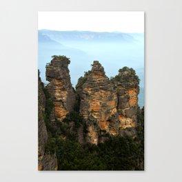 Three Sisters Sydney Australia Canvas Print