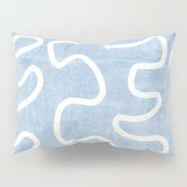 Line Abstract Art Pillow Sham