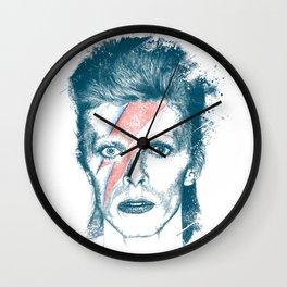 So Long Bowie.... Wall Clock