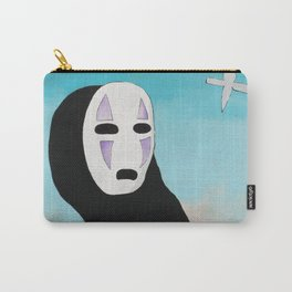 No Face & Paper Birds Carry-All Pouch