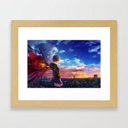 雾嶋董香 Framed Art Print