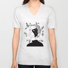 Figments I (Memories That Never Were) Unisex V-Neck