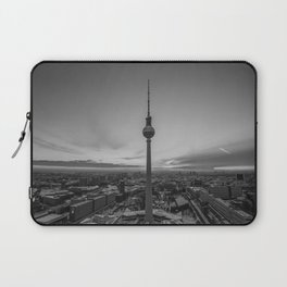 Black and White Berlin Laptop Sleeve