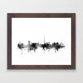 Dublin Ireland Skyline Framed Art Print