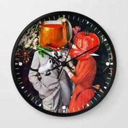 Hot Couple Wall Clock
