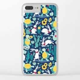 The tortoise and the hare Clear iPhone Case