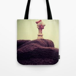 Chicken Invaders Tote Bag