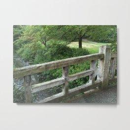 Maplewood - Memorial Park Bridge Metal Print