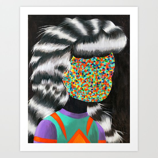 Beautiful Dreamer Anonima Art Print