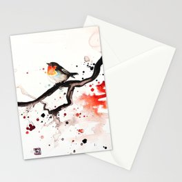 "The tiny wings ""The robin"" Stationery Cards"