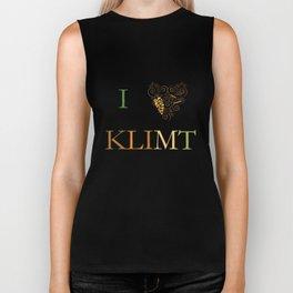 I heart Klimt Biker Tank