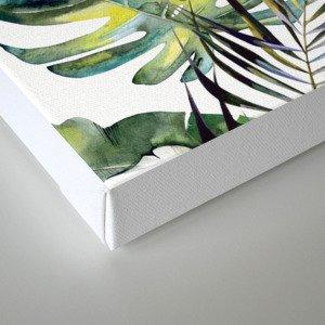 TROPICAL GARDEN 2 Canvas Print