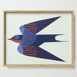 Barn Swallow Serving Tray