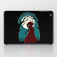 red riding hood iPad Cases featuring Red Riding Hood 2 by Freeminds