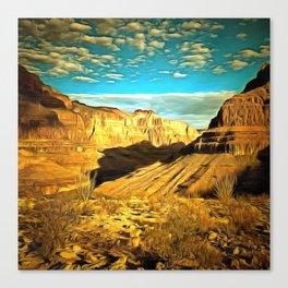 Majestic Ravine Canvas Print