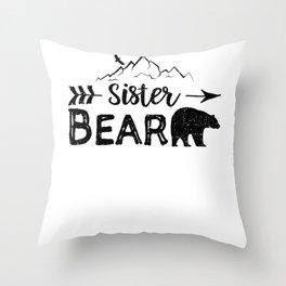 Sister Bear Throw Pillow