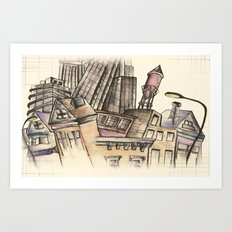 To Be An Architect Art Print