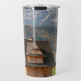 village in Tatra Country Travel Mug