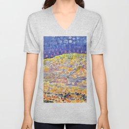 Dune II - Piet Mondrian Unisex V-Neck