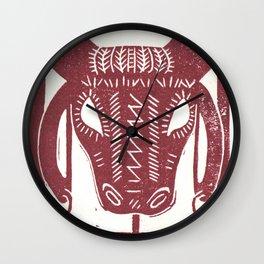 Strength (White) Wall Clock