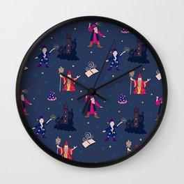 Wizards Wall Clock