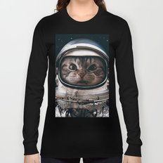 Space catet Long Sleeve T-shirt