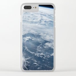welcome to the space station Clear iPhone Case
