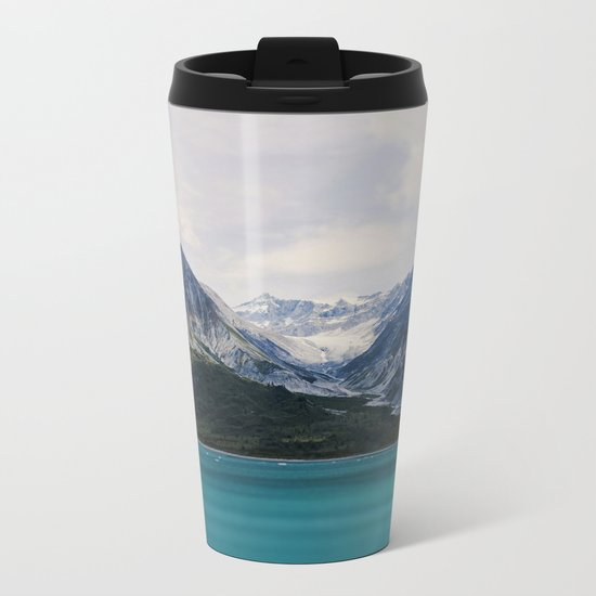 Alaska Wilderness Metal Travel Mug