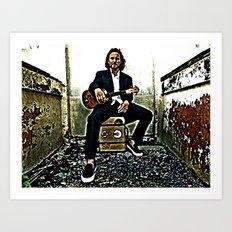 Eddie Vedder | Oil Painting Art Print