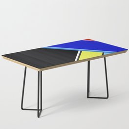 Happy Hues Modern Colorblock Pattern - Black Coffee Table
