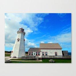 East Point PEI Lighthouse Canvas Print