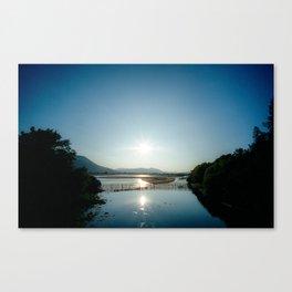 Loch Sunset Canvas Print