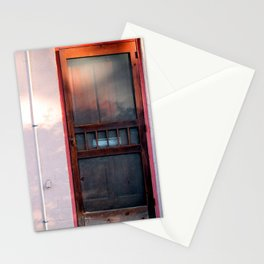 the doors Stationery Cards
