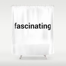 fascinating Shower Curtain