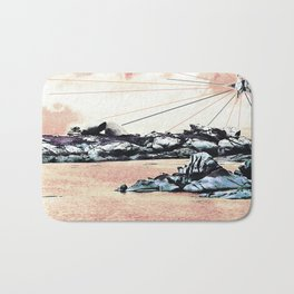 So maybe.... with another land. Bath Mat
