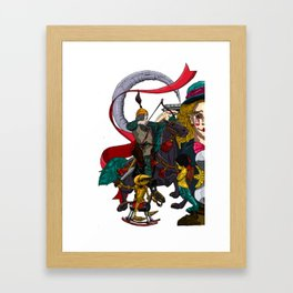 Last Battle no 1 Framed Art Print