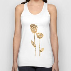 PAPERCUT FLOWER 5 Unisex Tank Top