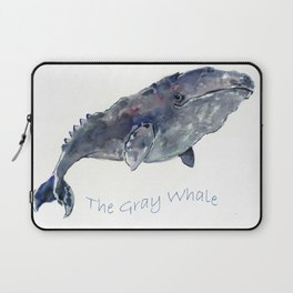 Gray Whale Laptop Sleeve