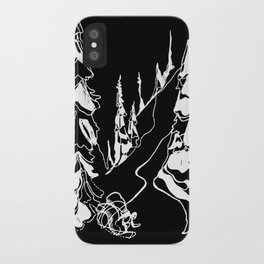 Back Alley :: Single Line iPhone Case