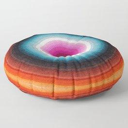 Multicolore Design Artwork D6 Floor Pillow