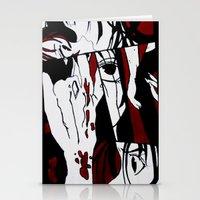 grafitti Stationery Cards featuring Grafitti Manga by Fine2art