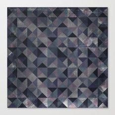Moody Mosaic Canvas Print
