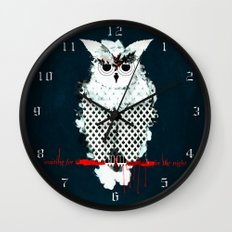 waiting for the night Wall Clock