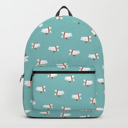 You Lift Me Up - Polar bear doing ballet Backpack