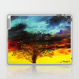 Stormy sunrise Laptop & iPad Skin