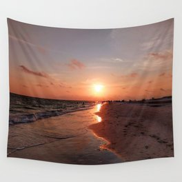 Siesta Key Sunset Wall Tapestry